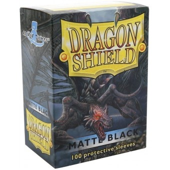 Протекторы Dragon Shield (66 х 91 мм., 100 шт.): Black / Черные матовые