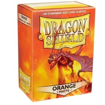 Протекторы Dragon Shield (66 х 91 мм., 100 шт.): оранжевые матовые