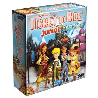 настольная игра Ticket to Ride Junior: Европа