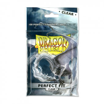 Протекторы Dragon Shield (63 x 88 мм., Perfect Fit, 100 шт.)