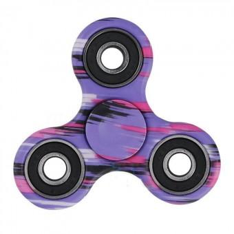 Спиннер фиолетовый камуфляж (металлический подшипник)