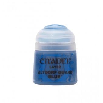 Баночка с краской Layer: Altdorf Guard Blue / Синий Альтдорфский страж (12 мл.)