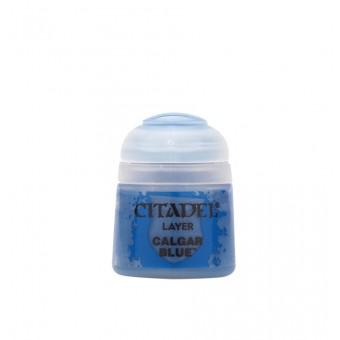 Баночка с краской Layer: Calgar Blue / Синий Калгар (12 мл.)