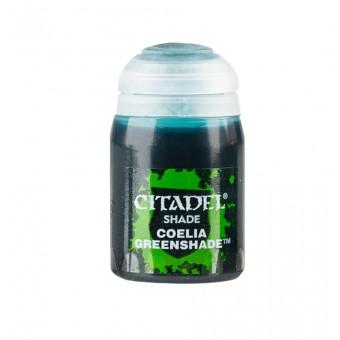 Баночка с проливкой Shade: Coelia Greenshade / Коэльский Зеленый (24 мл.)