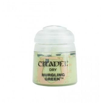 Баночка с краской Dry: Nurgling Green / Нурглинский Зеленый (12 мл.)