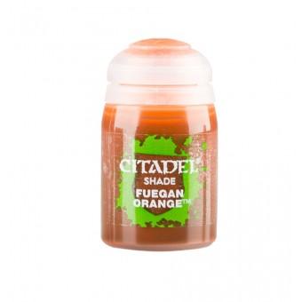 Баночка с проливкой Shade: Fuegan Orange / Фуганский Оранжевый (24 мл.)