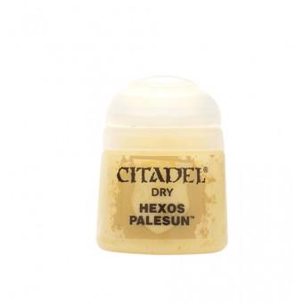 Баночка с краской Dry: Hexos Palesun / Бледное солнце Гексоса (12 мл.)