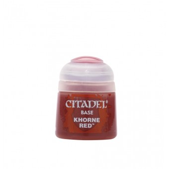 Баночка с краской Base: Khorne Red / Красный Кхорн (12 мл.)
