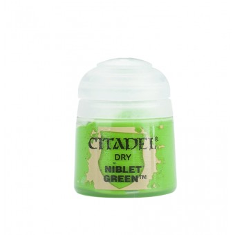 Баночка с краской Dry: Niblet Green / Ниблетский Зеленый (12 мл.)