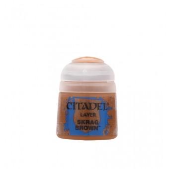 Баночка с краской Layer: Skrag Brown / Бурый Скраг (12 мл.)
