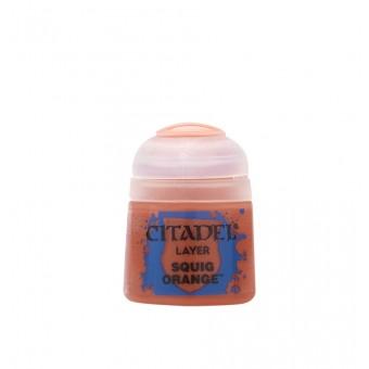 Баночка с краской Layer: Squig Orange / Оранжевый Сквиг (12 мл.)