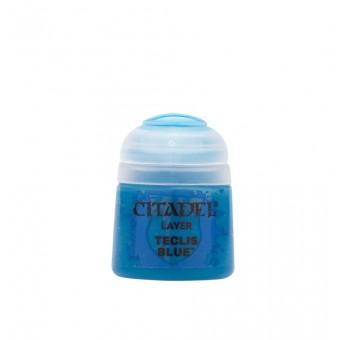 Баночка с краской Layer: Teclis Blue / Синий Теклис (12 мл.)