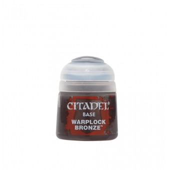 Баночка с краской Base: Warplock Bronze / Варплокская Бронза (12 мл.)