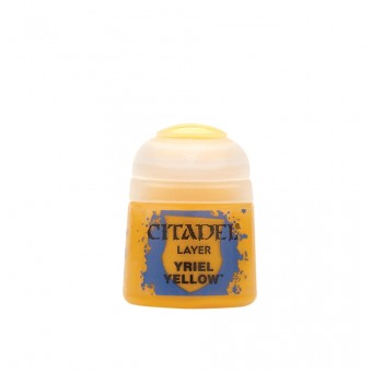 Баночка с краской Layer: Yriel Yellow / Желтый Ириэль (12 мл.)