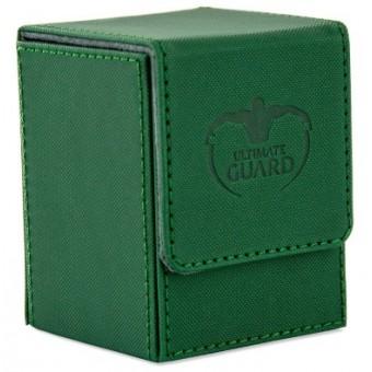 Коробочка Ultimate Guard XenoSkin на 100 карт (зелёная)
