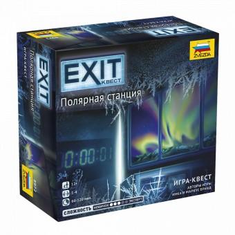 настольная игра Exit Квест. Полярная Станция