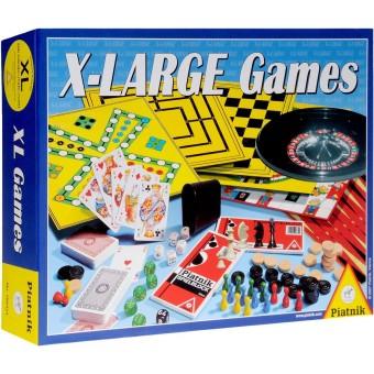 набор классических настольных игр XLarge Games (рулетка, шахматы, шашки и др.)