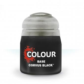 Баночка с краской Base: Corvus Black / Корвус Черный