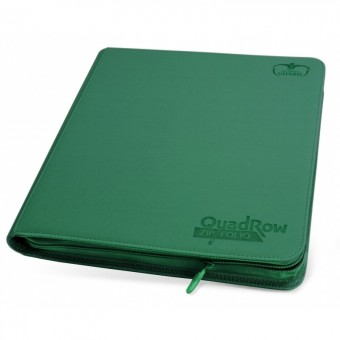 Альбом Ultimate Guard QuadRow ZipFolio (на 480 карт, 4x3): зеленый
