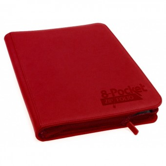 Альбом Ultimate Guard ZipFolio XenoSkin (на 320 карт, 4x2): красный