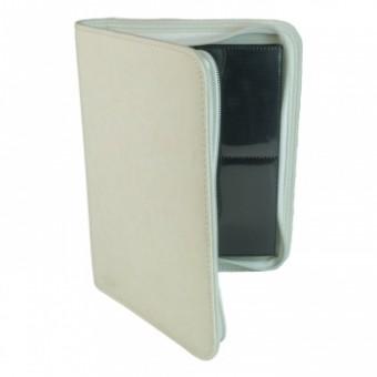 Альбом для карт BlackFire ZipFolio Premium (на 160 карт, 2x2): белый