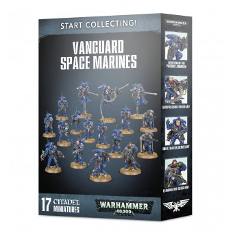 Start Collecting! Vanguard Space Marines / Набор Начни собирать! Авангард Космического Десанта
