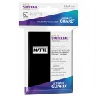 Протекторы Ultimate Guard Supreme Matte Черные (66 x 91 мм., 50 шт.)