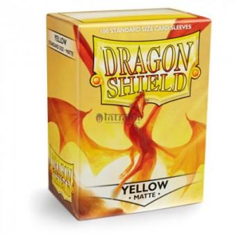 Протекторы Dragon Shield (66 х 91 мм., 100 шт.): Yellow / Желтые матовые