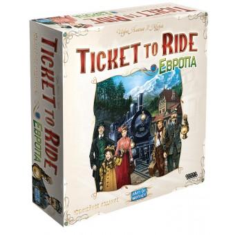 настольная игра Билет на Поезд: Европа. Юбилейное издание / Ticket to Ride: Europe. Anniversary edition