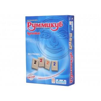 настольная игра Rummikub / Руммикуб. Без границ (мини)