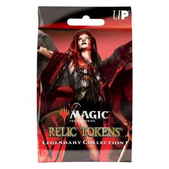 Ultra-Pro Magic Relic Tokens. Legendary Collection 1. Бустер