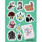 стикеры Stickers.one: Gravity Falls / Гравити Фолз (лист А5)
