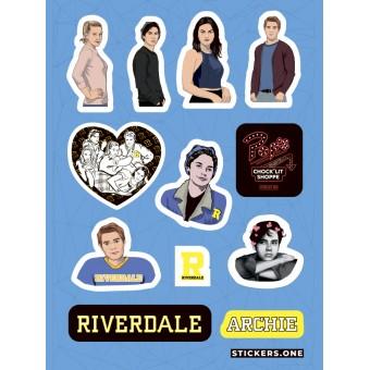 стикеры Stickers.one: Ривердэил / Riverdale (лист А5)