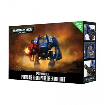 Easy To Build: Primaris Redemptor Dreadnought / Примарис Дредноут-Искупитель