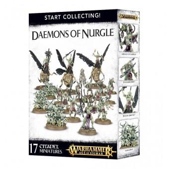 Start Collecting! Daemons of Nurgle / Начни собирать! Демоны Нургла