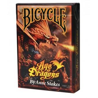 карты для покера Bicycle Anne Stokes Драконы