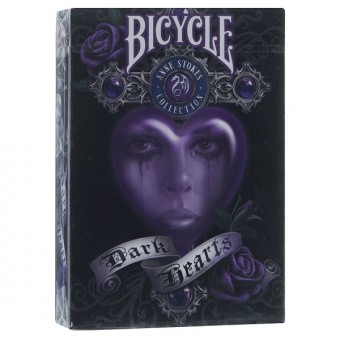 карты для покера Bicycle Anne Stokes Dark Hearts