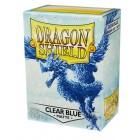 Протекторы Dragon Shield (66 х 91 мм., 100 шт.): Clear Blue / Прозрачно-голубые матовые