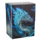 Коробочка Dragon Shield, пластиковая на 80+ карт (Night Blue)
