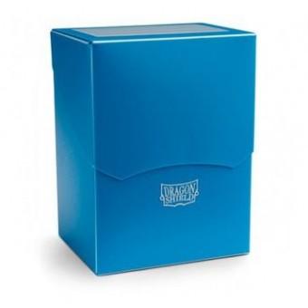 Коробочка Dragon Shield (пластиковая, на 80+ карт): голубая