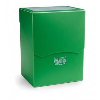 Коробочка Dragon Shield (пластиковая, на 80+ карт): зеленая