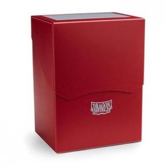 Коробочка Dragon Shield (пластиковая, на 80+ карт): красная