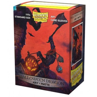 Протекторы Dragon Shield (66 х 91 мм., 100 шт.): матовые Halloween Dragon