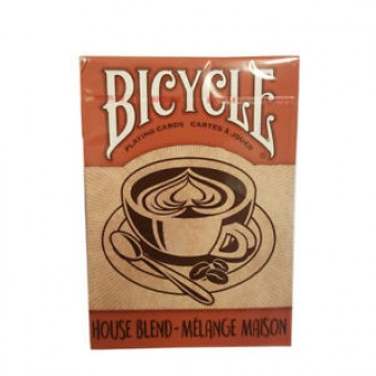 карты для покера Bicycle House Blend (коричневые)