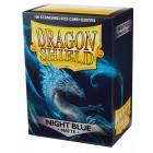 Протекторы Dragon Shield (66 х 91 мм., 100 шт.): Night Blue / Темно-синие матовые