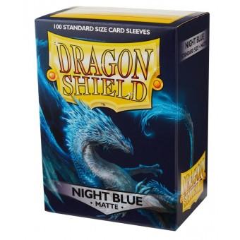 Протекторы Dragon Shield (66 х 91 мм., 100 шт.): темно-синие матовые
