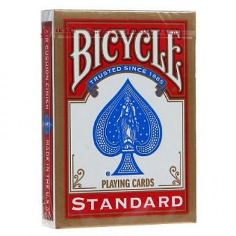 карты для покера Bicycle Standard (красные)