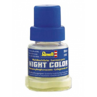 Баночка с люминесцентной краской Revell: Night Color (30 мл.)