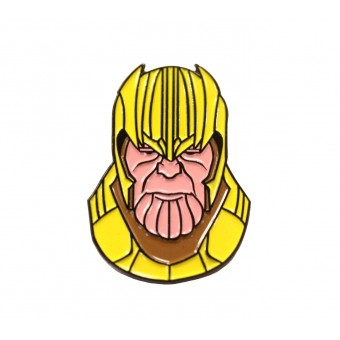 металлический пин Pin it Up Танос
