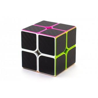 Головоломка Кубик 2x2 Z-Cube Carbon Цветной пластик (Карбон)